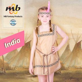 Disfraz De India Para Niñas Infantiles - Disfraces en Mercado Libre ... 9e74b24122a