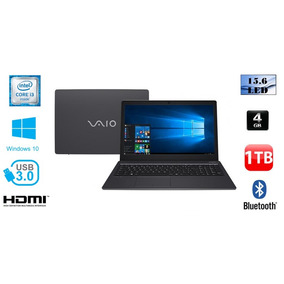 Notebook Vaio Fit 15s Intel Core I3 4gb 1tb 15,6 Windows 10