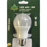 Lampada Bulbo Led 8w A60 E27 Branco Quente Ecolume Kit 14 Pç