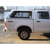 Cúpula Fibra De Vidrio Para Toyota Hilux Cabina Doble Nueva!