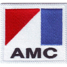Amc American Motors Rambler Carros Parches Bordados