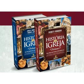 História Da Igreja / Editora Central Gospel - Volumes 1 E 2