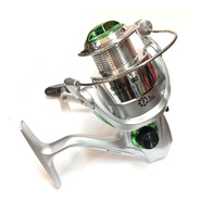 Reel Frontal Tech Silver Pesca Pejerrey Spinning Variada