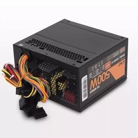 Fuente Atx Lnz 500w Sx500 Fc Cooler 80 Cable 28a 2da Sentey