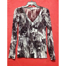 Blusa Calvin Klein Transparencias Animal Print Ck Fashion