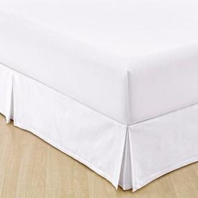 1 Saia Cama Box King Size 1 Capa De Colchão Impermeável King