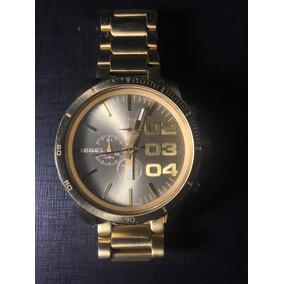 aa7383e5a66 Relogio Diesel Dourado Dz4268 Masc De Luxo Masculino - Relógios De ...