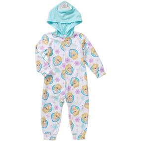 Pijama Mameluco Gorro Disney Frozen Talla 4 Años