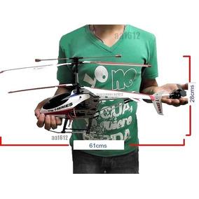 Aeromodelismo Helicoptero Control Remoto 3d Grande 61cm T10