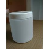 Envases De Plástico Tarros 500g Blancos