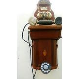 Telefono Antiguo Ericksson Rikskefon De 1910