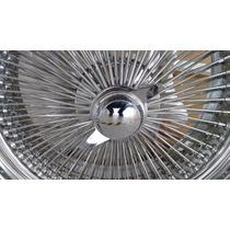 Roda Raiada Lowrider 20x8 Fw Cromada Nova Completa Modernas