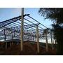 Galpao Pre Moldado/ Estrutura Metalica/ Pilares Concreto