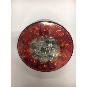 Lanterna Redonda Led Caminhão, Carreta, Buggy, Com Ré 2032