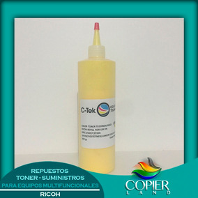 Toner Recarga Color Ricoh Amarillo 200grs Mpc 2500/3500/4500