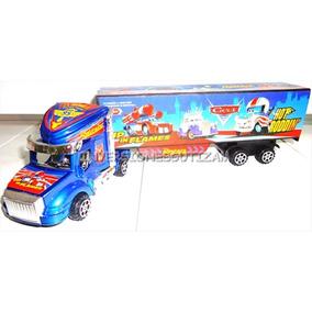 Camion Plastico Juguete Para Niños Cars Gandola Regalo Navid