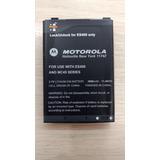 Bateria Para Coletor Origina Motorola Es400 Extra Capacidade