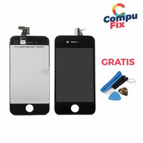 Display Pantalla Iphone 4 Original Apple Lcd Blanco Negra