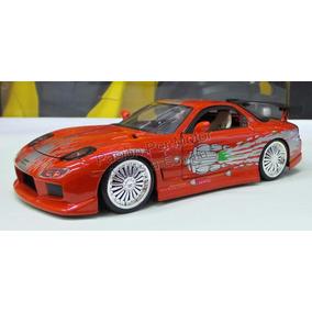 1:24 Mazda Rx7 Toretto Rapido Y Furioso Jada Display