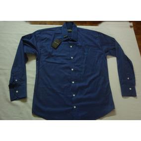 Camisa Emporio Armani Made In Italy L Original 100% Algodon