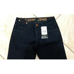 Calça Jeans Capri Feminina - Zoomp Original - Cód. 01