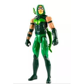 Boneco Arqueiro Verde - Mattel /liga Da Justiça.