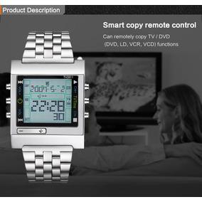 Relógio Tvg Tv2011 Controle Remoto Quartz E Digital
