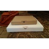 Caja Para Pizza Y Plegadiza