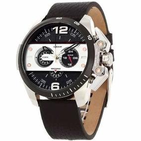 Relógio Luxo Diesel Dz4361 Couro Novo Oferta Mp09