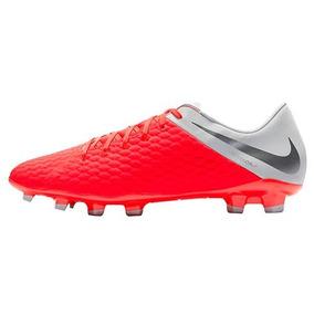 Botin Futbol Nike Aj4120600 Hypervenom Hombre Rojo 25-28 Q3