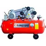Compresor Aire Lusqtoff Lc-75500 500lts Tricilindrico 7.5 Hp