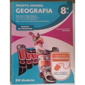 Livro Geografia - Projeto Araribá - 8 Ano