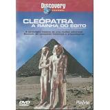 Dvd Cleópatra A Rainha Do Egito - Documentário - Discovery
