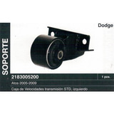 Soporte Caja De Velocidades Dodge Atos 1.1 L4 # 2183005200