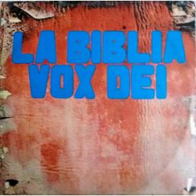 Dos Vinilos De Vox Dei -la Biblia (album Doble) -original!