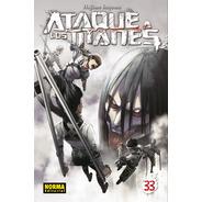 Shingeki No Kyojin Attack On Titan Ataque A Los Titanes #33