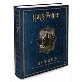 Livro - Harry Potter Das Páginas Pra Tela (inglês)