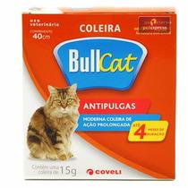 Coleira Bullcat Antipulgas Para Gatos