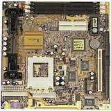 Placa Slot 1 / Socket 370 Xcel2000 At/atx Slot Isa/pci Com