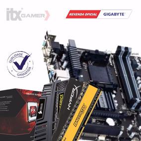 Kit Gamer Fx-6300 + Gigabyte Ga-78lmt-usb3 + 4gb Gamer