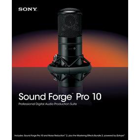 Sony Sound Forge Pro 10 - Editor De Áudio