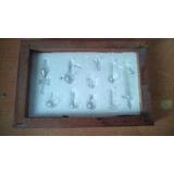 Equipo De Química Miniatura Decorativo