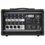Peavey 03601820 Mezcladora Portatil Amplificada 200-w Pv