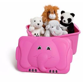 Caixa Plastica Bau Para Brinquedos E Sapatos Infantil