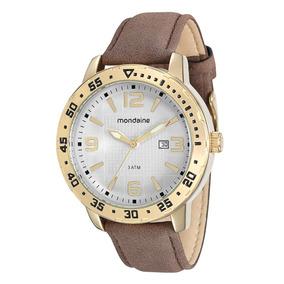 Relógio Masculino Mondaine Pulseira De Couro 76492gpmgdh2