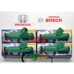 Jogo 4 Bicos Injetores Honda Crv N.civic 0280157147 Bosch