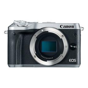 Cuerpo De Cámara Dslr Canon Eos M6 24.2 Mp -plateado