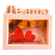 Porta Retrato Te Amo Love 15x20 Cm Casal Namorados Noivos