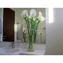 6 Copos De Leite De Silicone - Flores Artificiais Artificial