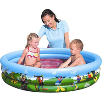 Pileta Inflable Mickey Mousse 3 Anillos Bestway 122cm X 25cm